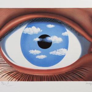 Rene Magritte Le Faux Miroir