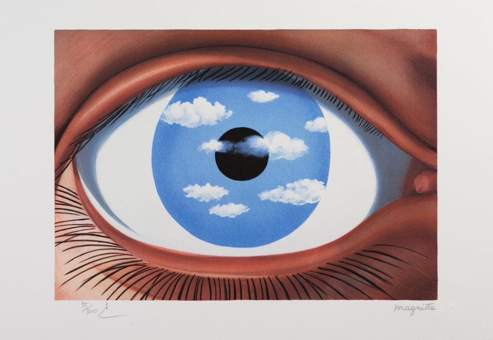 Rene Magritte - Le Faux Miroir
