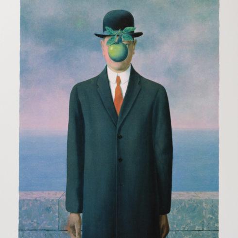 Rene Magritte - Le Fils de L'Homme