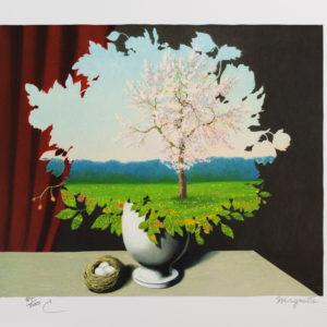 Rene Magritte Le Plagiat