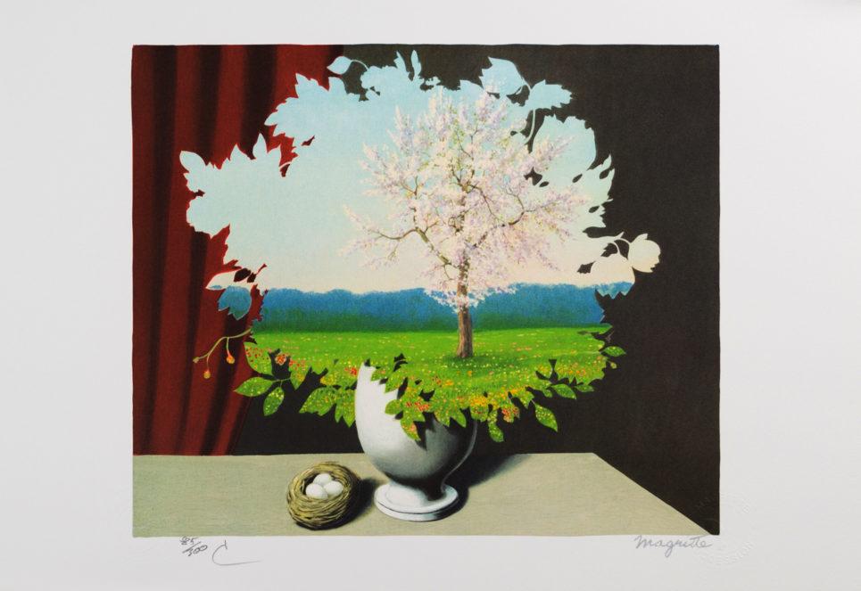 Rene Magritte - Le Plagiat