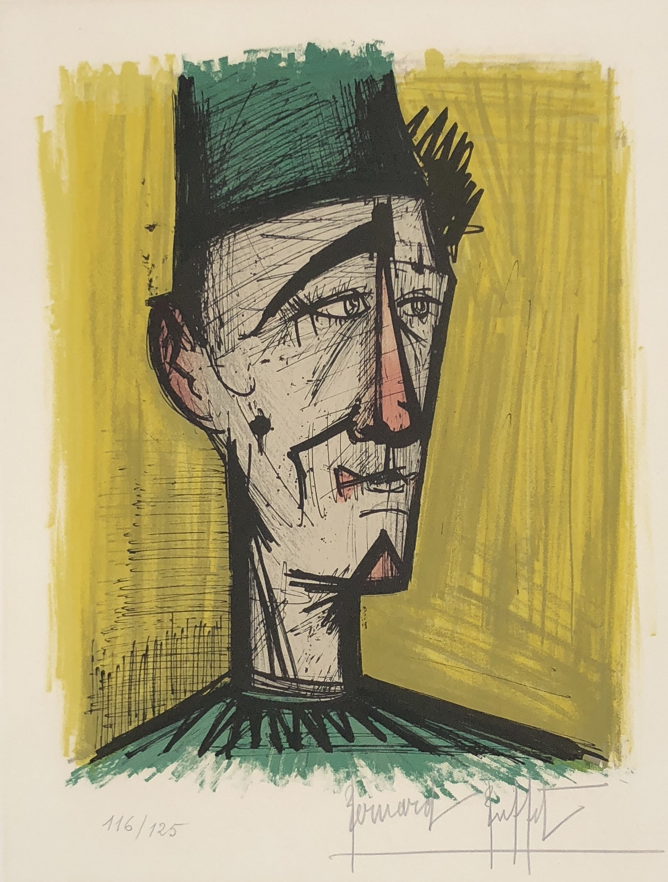 Bernard Buffet - Le Clown Jojo