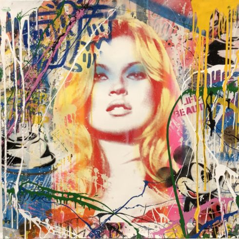 Mr. Brainwash - Kate Moss (32 x 32)
