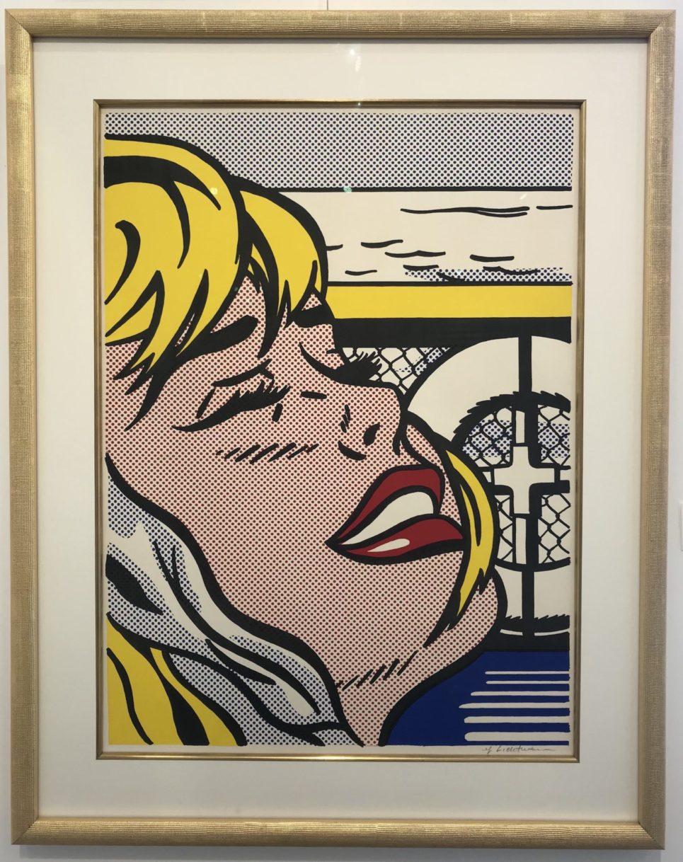 roy-lichtenstein-shipboard-girl-1965-framed