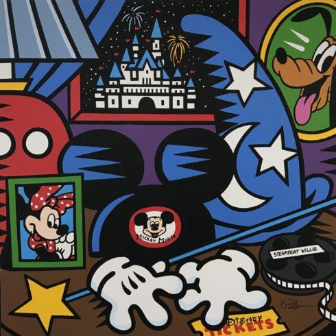Burton Morris - Mickey Mouse Nightstand