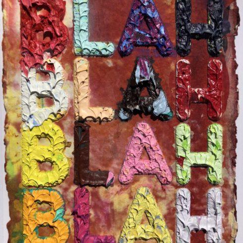 Mel Bochner - Blah Blah Blah Blah