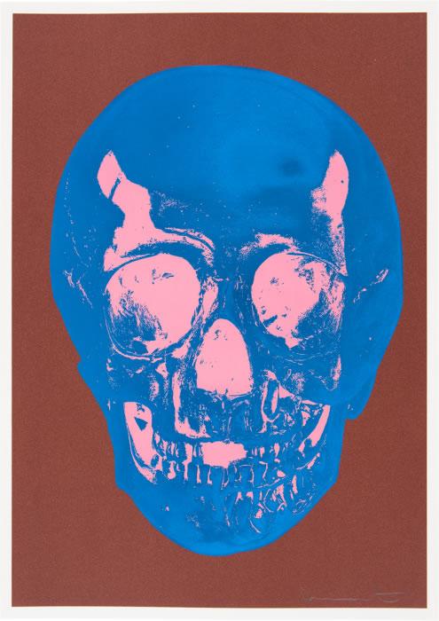 Damien Hirst - Till Death Do Us Part (Brown/Blue/Pink)