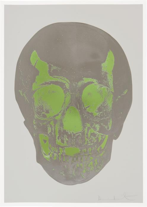 Damien Hirst - Till Death Do Us Part (Grey/Green)