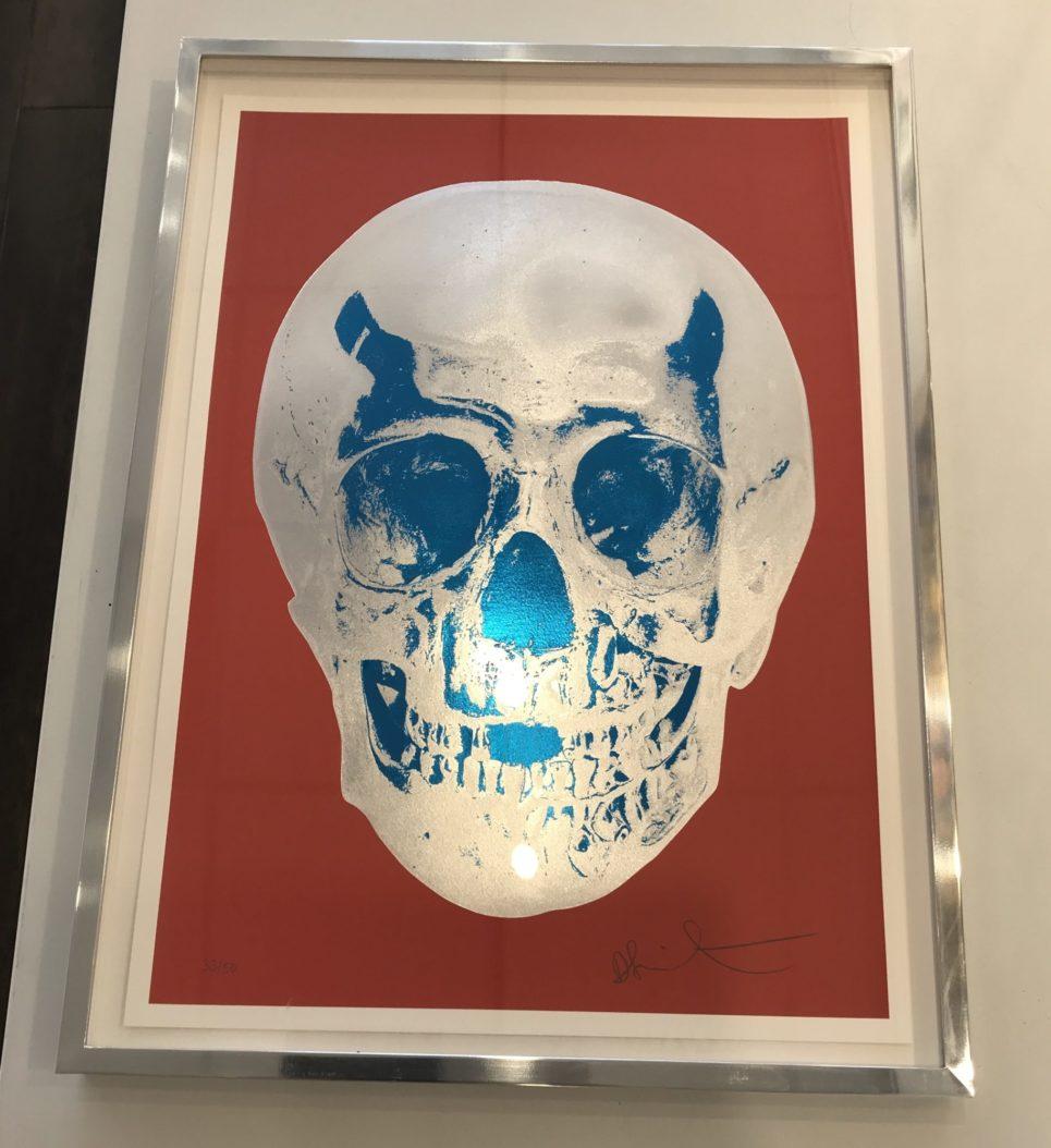 damien-hirst-till-death-do-us-part-red-silver-blue-framed