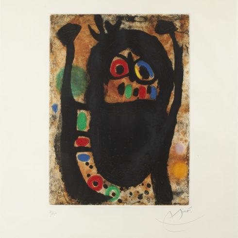 Joan Miro - Femme aux Bijoux
