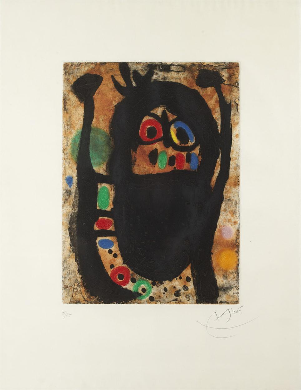 Joan Miro - La Femme aux Bijoux