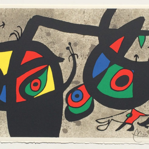 Joan Miró - Lezard aux Plumes d'Or (The Lizard with Golden Feathers)