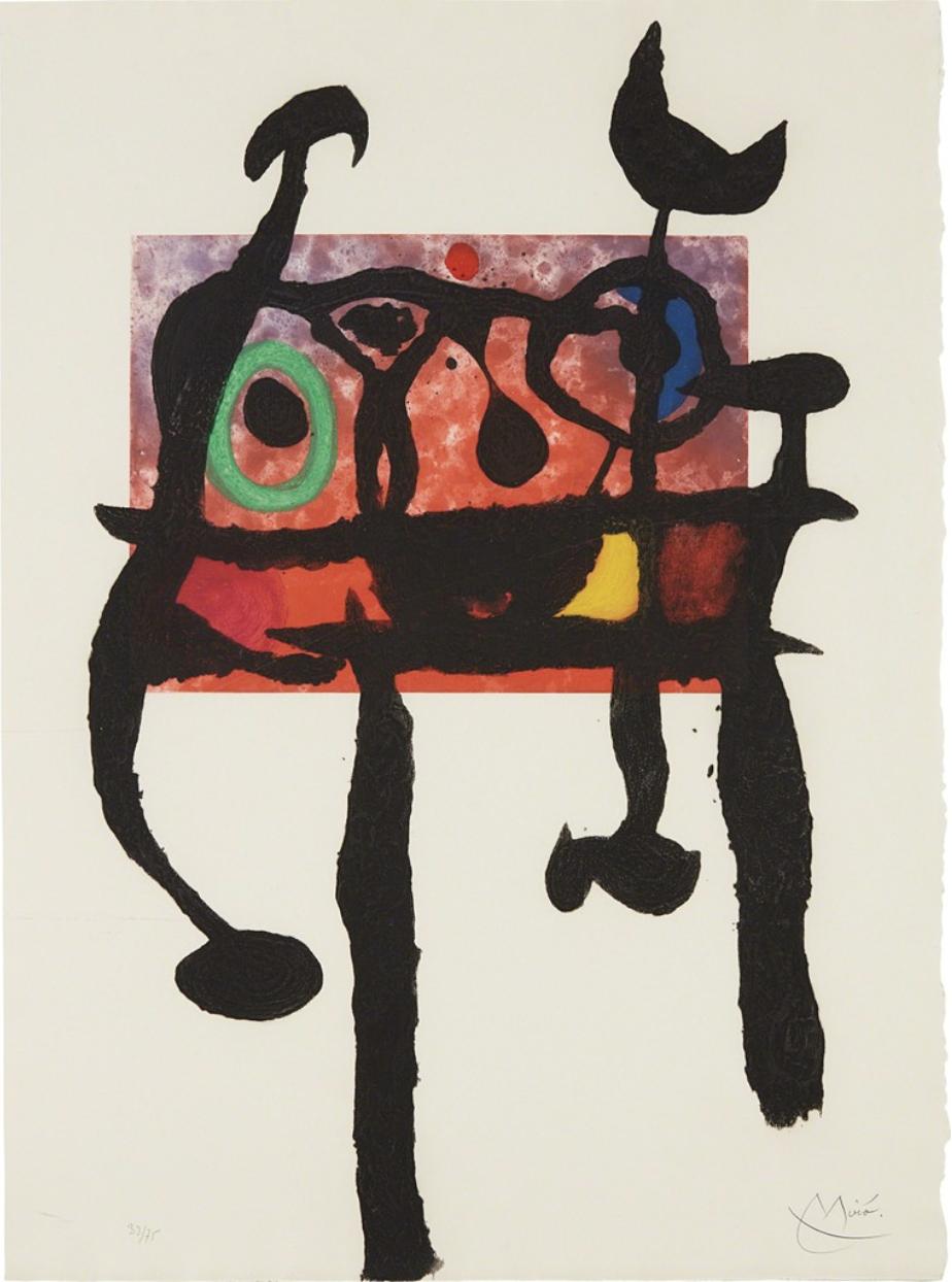 Joan Miro - Le Samourai