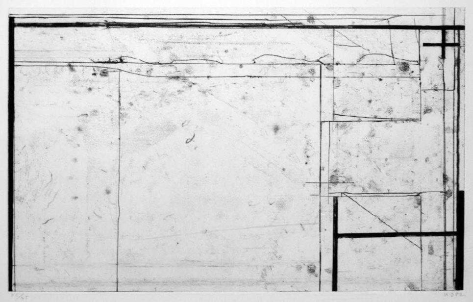 Richard Diebenkorn - Softground Cross