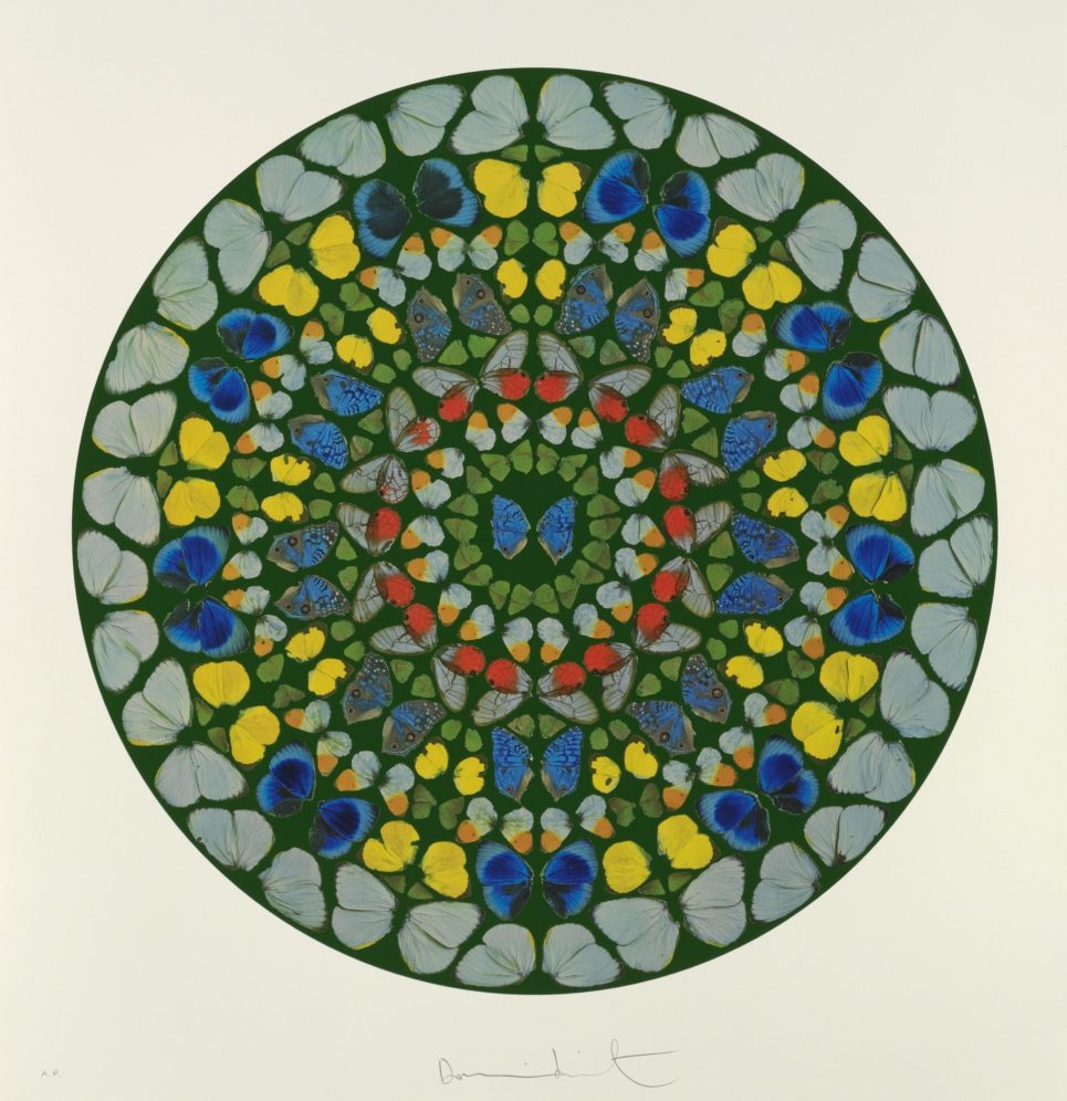 Damien Hirst - Psalm: Diligam te, Domine