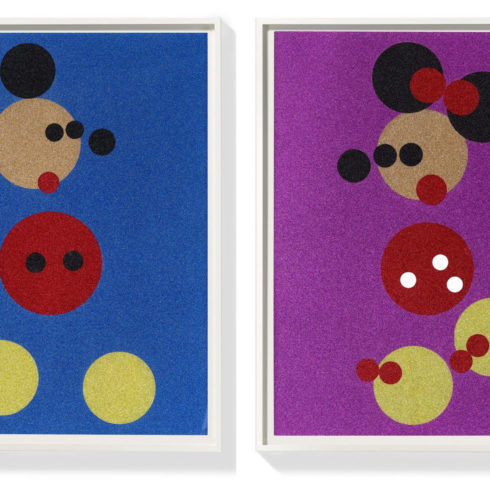 Damien Hirst - Mickey and Minnie