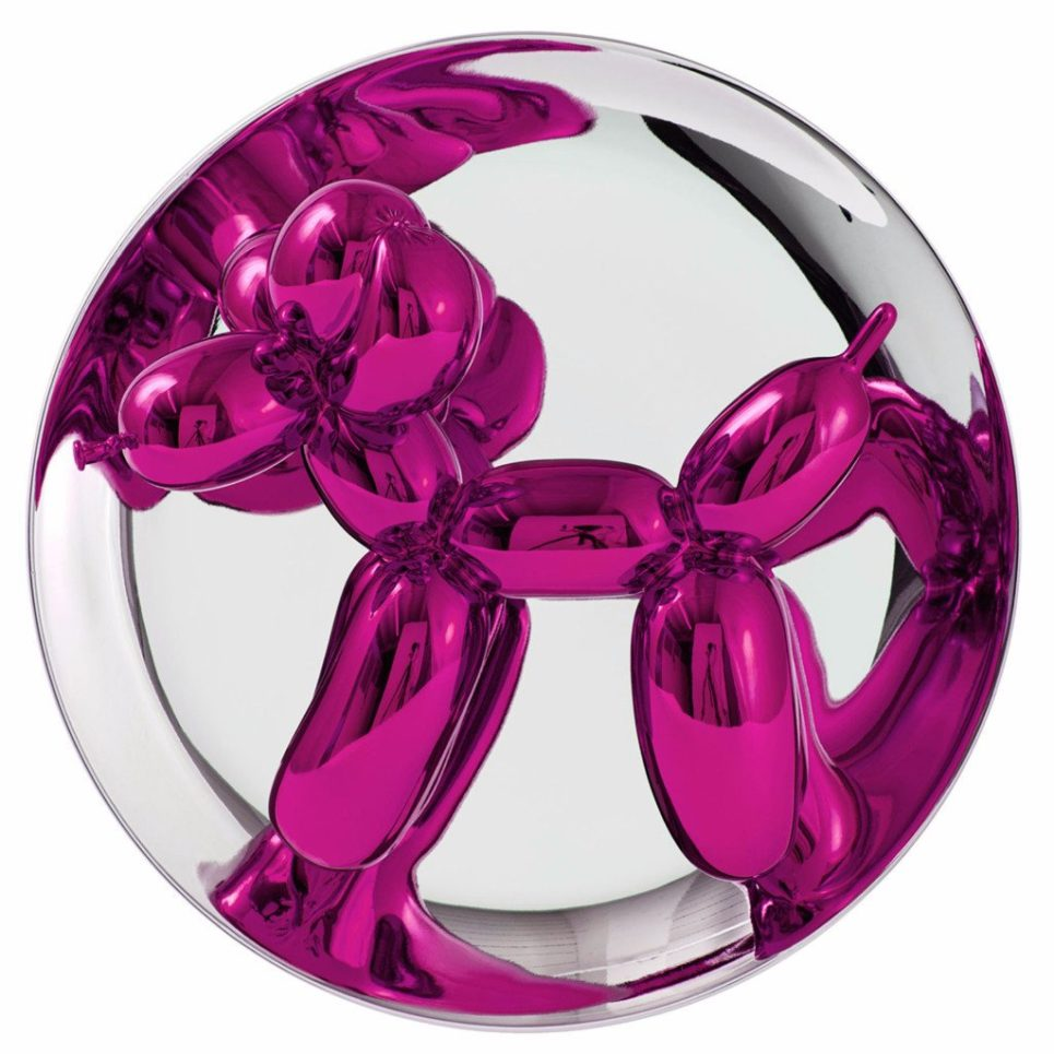 Jeff Koons - Balloon Dog Magenta