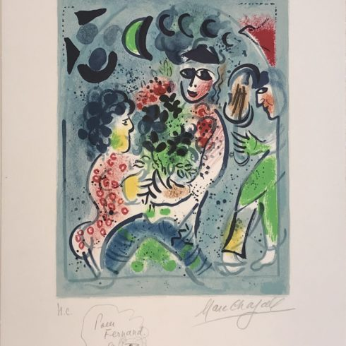 Marc Chagall - Chagall Lithograph III Frontispiece