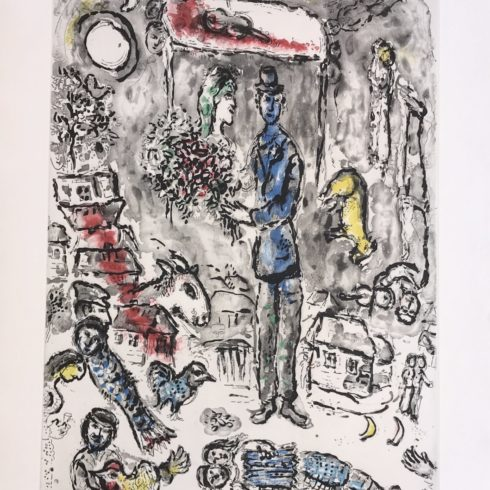 Marc Chagall - Le Mariage (The Wedding)