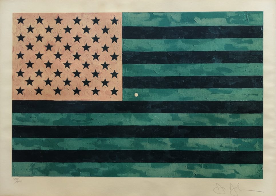 Jasper Johns - Flag (Moratorium) 1969