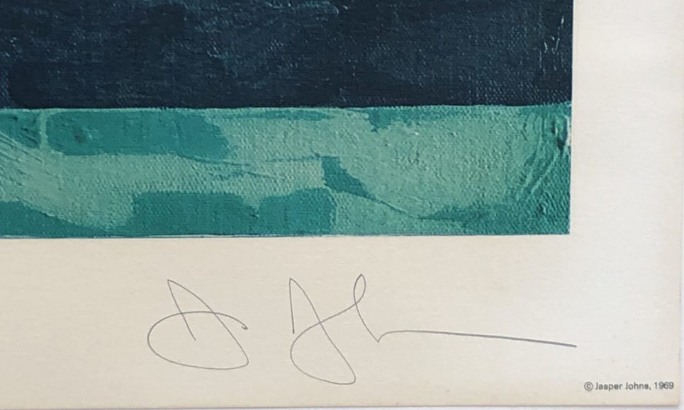 jasper-johns-flag-moratorium-signature