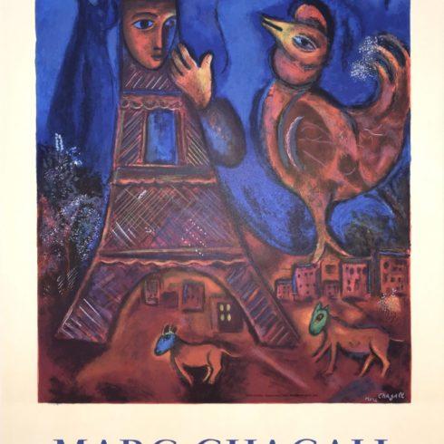 Marc Chagall - Good Morning Paris