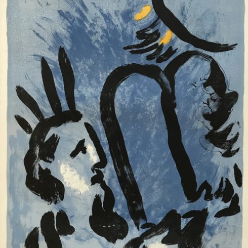 Marc Chagall - Moses 1960