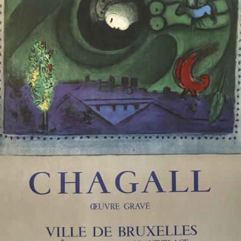 Marc Chagall - Oeuvre Grave - Ville de Bruxelles