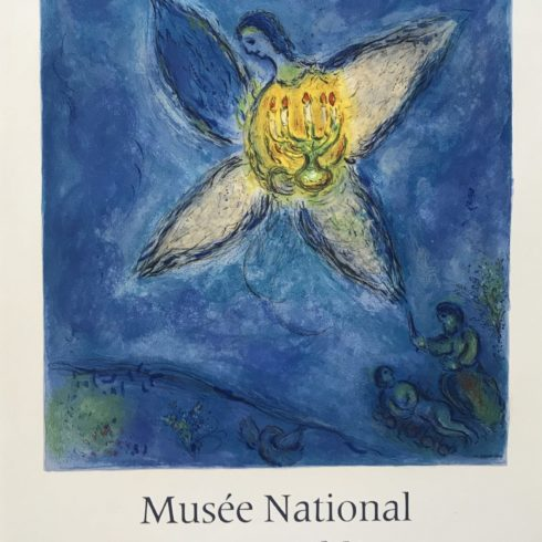 Marc Chagall - The Angel in the Chandelier