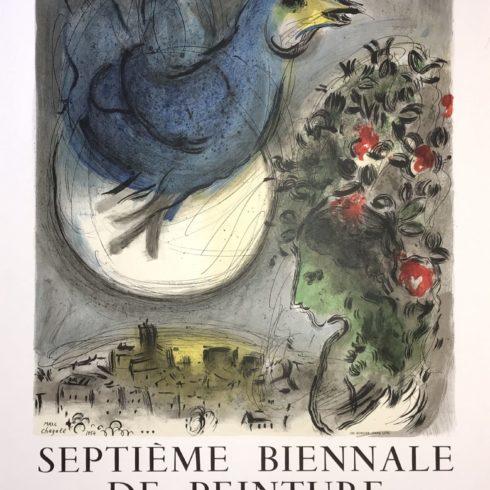 Marc Chagall - The Bluebird