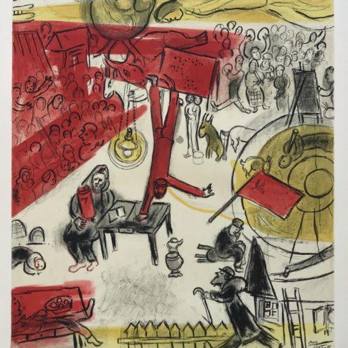 Marc Chagall - The Revolution