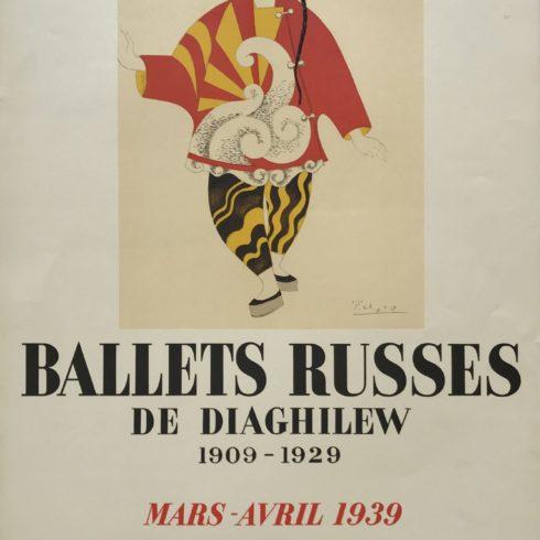 Pablo Picasso - Ballets Russes