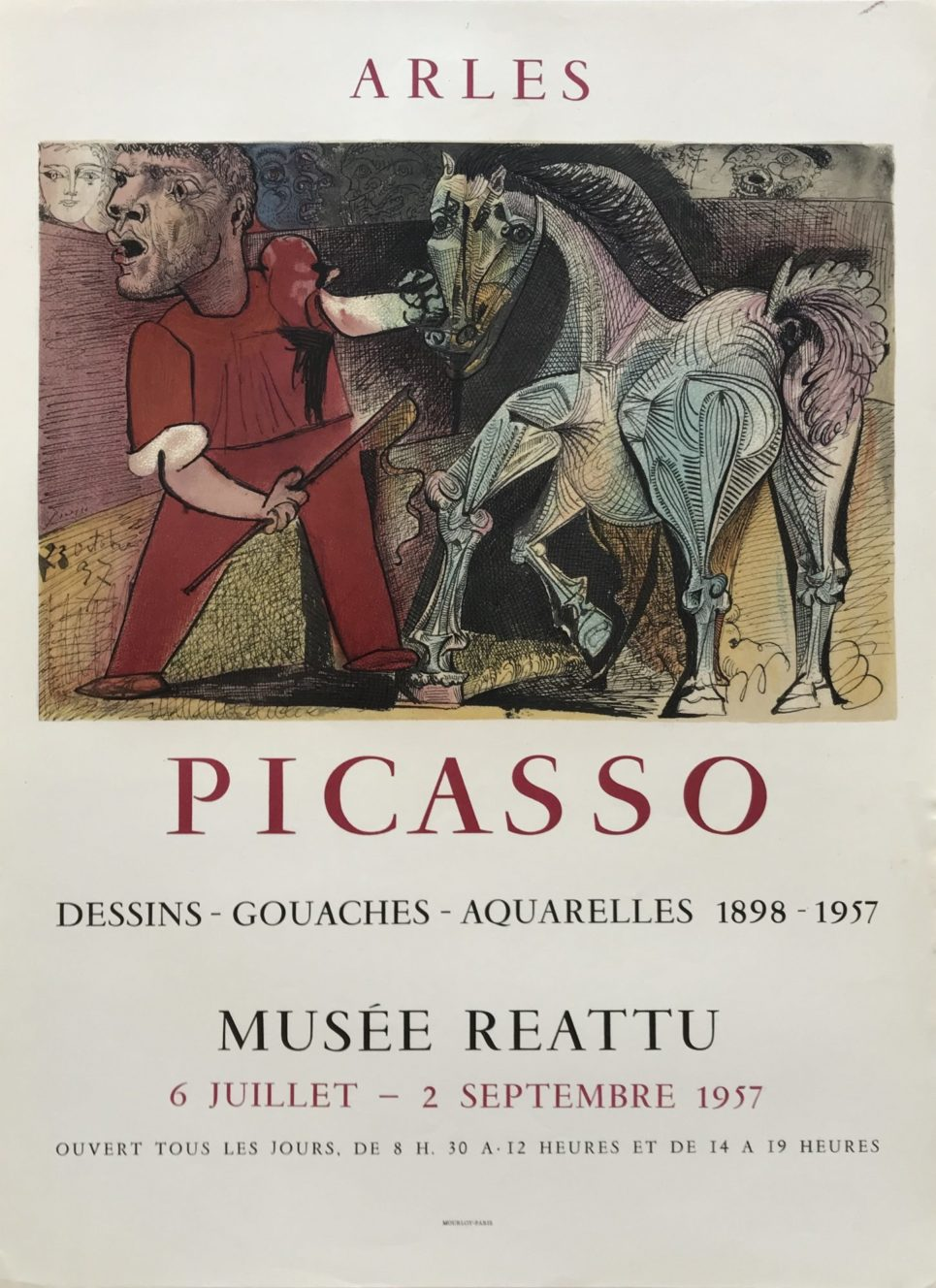 Pablo Picasso - Dessins-Gouaches-Aquarelles 1898-1957