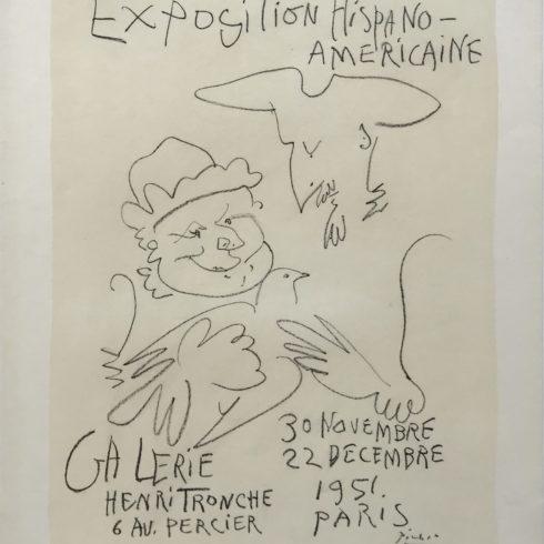 Pablo Picasso - Exposition Hispano-Americaine