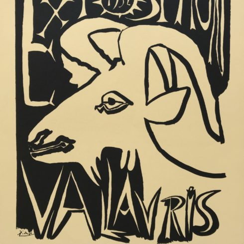 Pablo Picasso - Exposition Vallauris - Maison de la Pensee Francaise