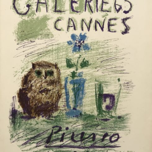 Pablo Picasso - Galerie 65-Cannes