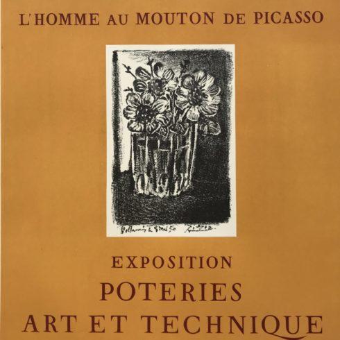 Pablo Picasso - l'Homme au Mouton de Picasso-Vallauris