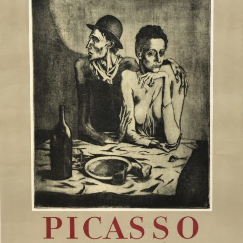 Pablo Picasso - l'Oeuvre Grave-Bibliotheque Nationale