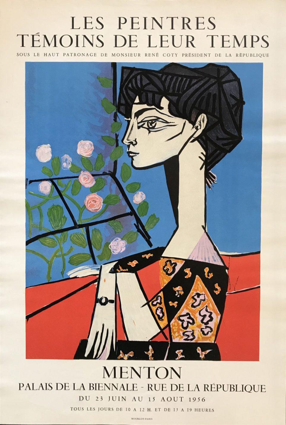 Pablo Picasso - Les Peintres Temoine de leur Temps