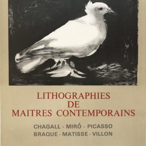 Pablo Picasso - Lithographies de Maitres Contemporains