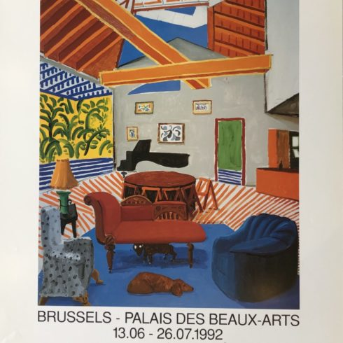David Hockney - Brussels - Palais des Beaux Arts