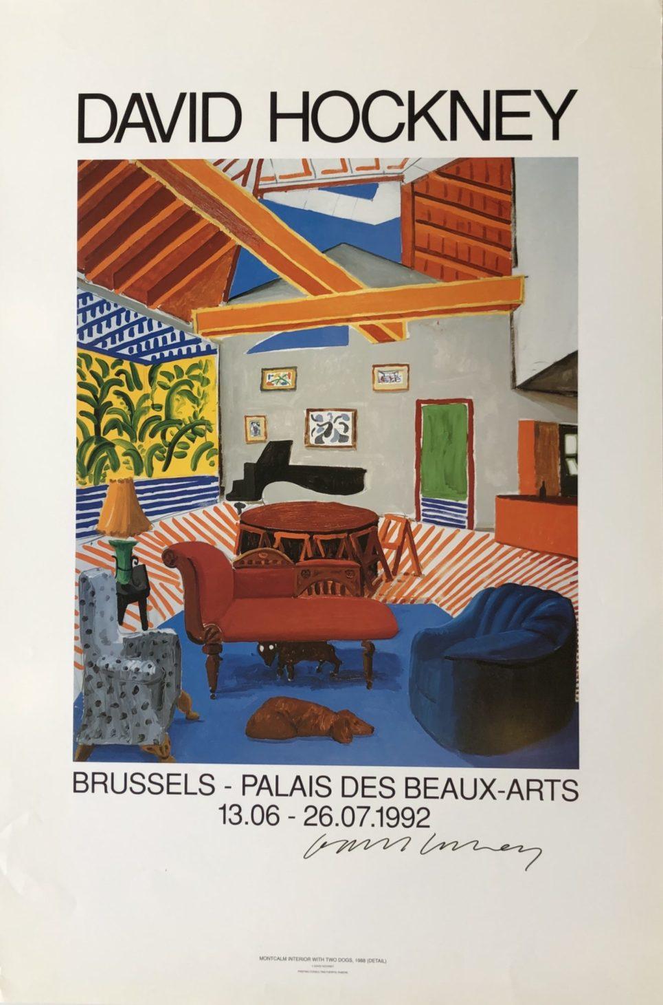 David Hockney - Brussels - Palais des Beaux Arts