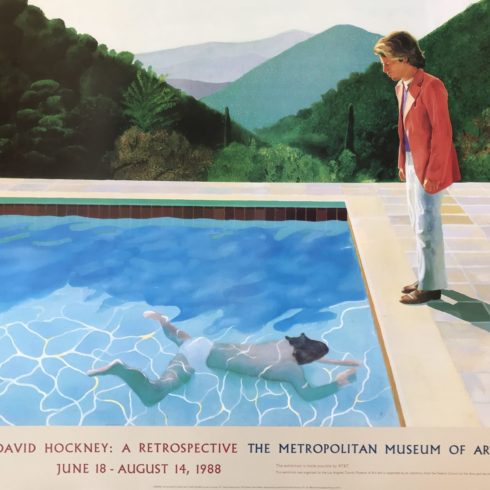 David Hockney - Portrait of an Artist (Pool with Two Figures)