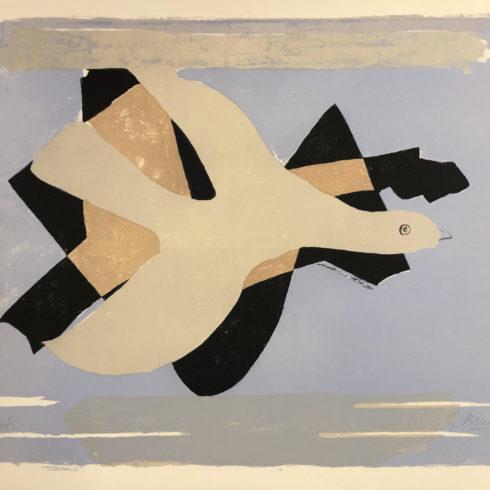 Georges Braque - L'oiseau et son ombre I