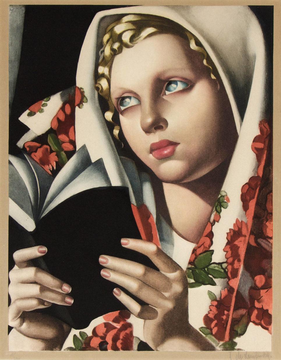 Tamara de Lempicka - La Polonaise