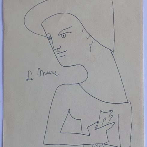 Jean Cocteau - La Muse