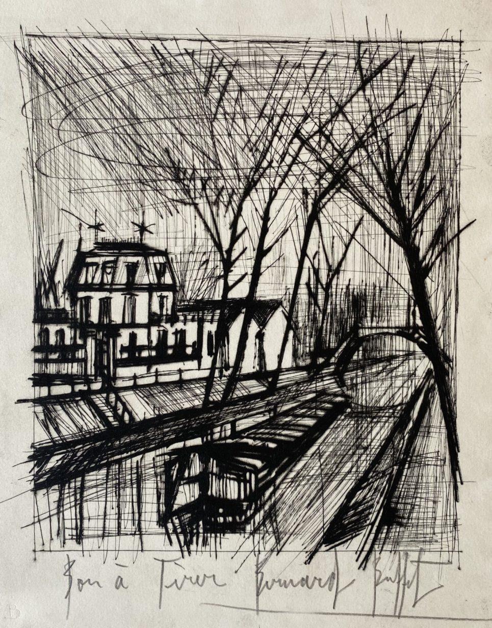 Bernard Buffet - Le Canal