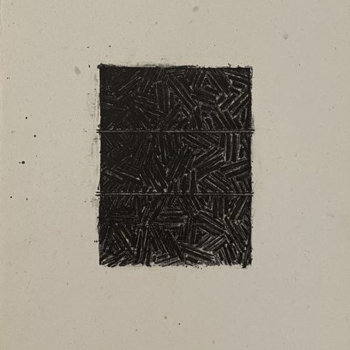 Jasper Johns - Bookplate for David Grainger Whitney