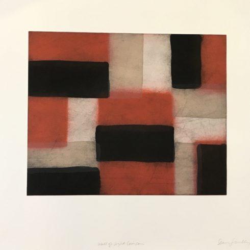 Sean Scully - Wall of Light Crimson