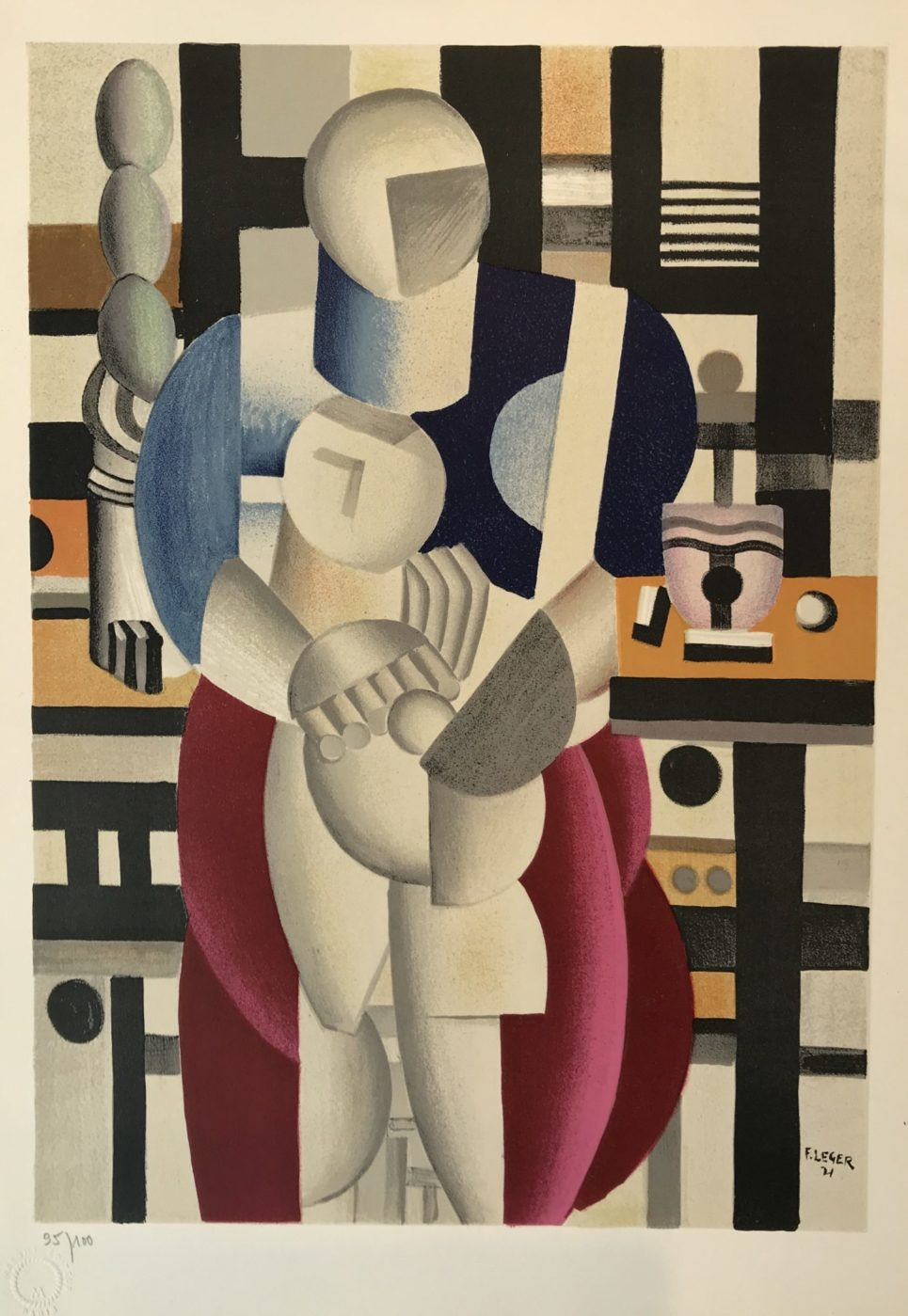 Fernand Leger - Woman and Child